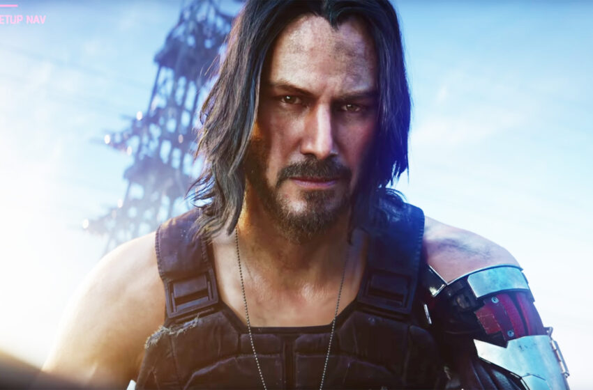 Espectacular tráiler de 'Cyberpunk 2077' con Keanu Reeves.